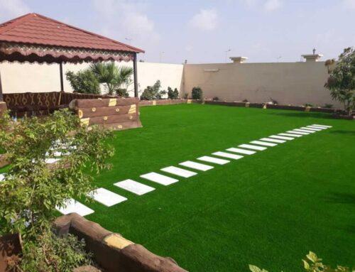 شركة تنسيق حدائق منزليه في العين |0556989355| تصميم